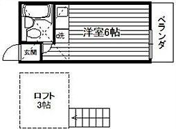スイートハウスB[1階]の間取り