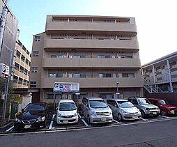 京都府京田辺市河原御影の賃貸マンションの外観