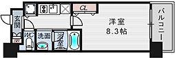 スプランディッド新大阪III[9階]の間取り