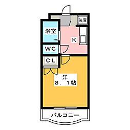 プチメゾンK[2階]の間取り