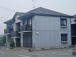 兵庫県姫路市飾磨区中島の賃貸アパートの外観