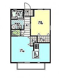 comodo(コモド)[102号室号室]の間取り