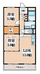 シティコーポ長田[5階]の間取り