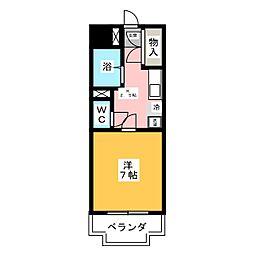 GRACIOUS SAITOU[2階]の間取り