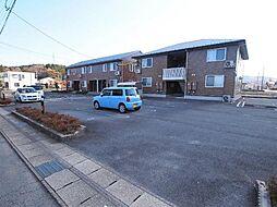 岐阜県可児市矢戸の賃貸アパートの外観