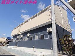 三重県津市栗真中山町の賃貸アパートの外観
