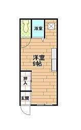 井原ビル[2階]の間取り