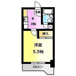 NOAマンション[502号室]の間取り