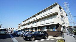 神奈川県川崎市高津区宇奈根の賃貸アパートの外観
