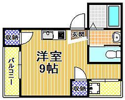 K−style大阪港[3階]の間取り