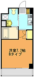 リバティゲート[506号室]の間取り