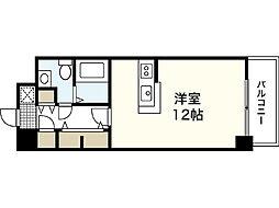 JR新白島駅前東亜ビル[14階]の間取り