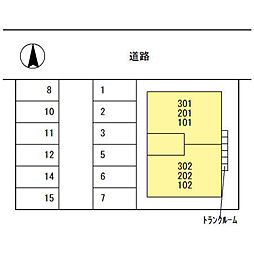 仮称)D-room畝田中[2階]の外観