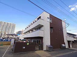 埼玉県朝霞市青葉台1丁目の賃貸マンションの外観