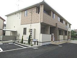 神奈川県厚木市愛甲3丁目の賃貸アパートの外観