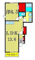 クレア ソーラス チャハ II[1階]の間取り