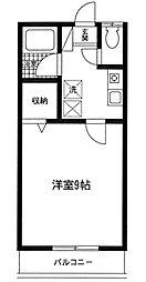 神奈川県相模原市南区相模大野9の賃貸アパートの間取り