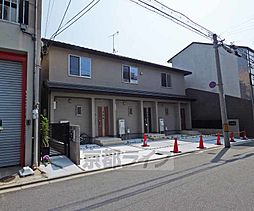 京都府京都市北区紫野東藤ノ森町の賃貸アパートの外観