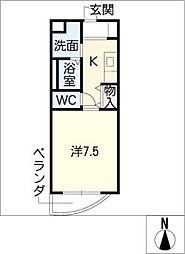 矢木楽器店本社ビル[7階]の間取り