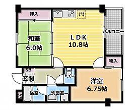 カルチェ・ダムールA棟[3階]の間取り