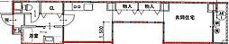 Osaka Metro御堂筋線 心斎橋駅 徒歩18分の賃貸マンション 8階1LDKの間取り