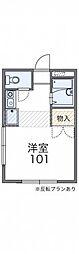 レオパレスSHIZUKA[1階]の間取り