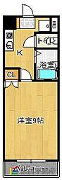 福岡県福岡市東区大字三苫4丁目の賃貸マンションの間取り