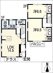 [一戸建] 愛知県春日井市如意申町4丁目 の賃貸【/】の間取り