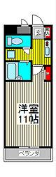 エム・ステージ白磁楼[9階]の間取り