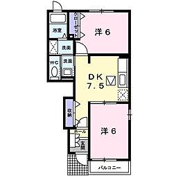 Palazzo・K[A103号室]の間取り