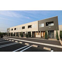 茨城県つくば市陣場の賃貸アパートの外観