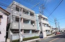 埼玉県川口市赤井3丁目の賃貸マンションの外観