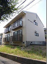 大阪府富田林市藤沢台4丁目の賃貸アパートの外観