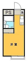 アップルハウス希望ヶ丘[1階]の間取り