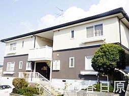 福岡県大野城市つつじケ丘1丁目の賃貸アパートの外観