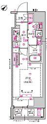 都営三田線 西巣鴨駅 徒歩7分の賃貸マンション 5階1Kの間取り