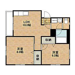 MINT HOUSE[102号室]の間取り
