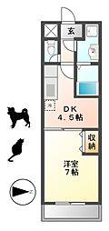 サプリーム神田[1階]の間取り