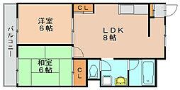 第1岡部ビル[6階]の間取り