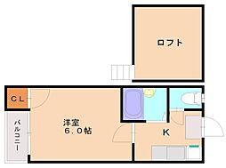 シティ井尻クラシオン[1階]の間取り
