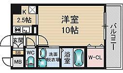 I Cube 新大阪東[3階]の間取り