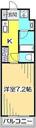 アメニティコウヤマ第15ガーデン[1階]の間取り