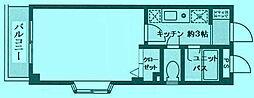 アーク登戸[3階]の間取り