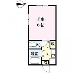 アレグリアプレイス熊谷[103号室号室]の間取り