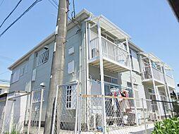 滋賀県甲賀市水口町城東の賃貸アパートの外観