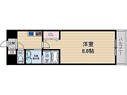 彩都シオン[5階]の間取り