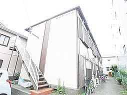 東京都足立区東和2丁目の賃貸アパートの外観