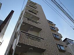 東京都日野市日野本町2丁目の賃貸マンションの外観
