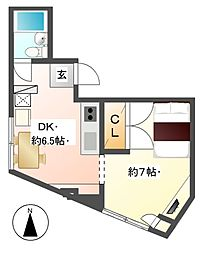 長野アーバンビル[3階]の間取り