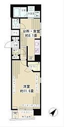 アルテーヌ新横浜(7-10F)[7階]の間取り